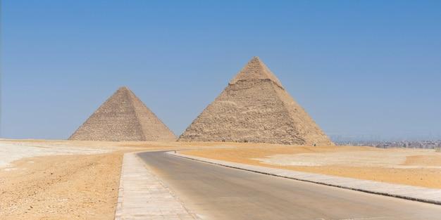 エジプトのギザの大ピラミッド