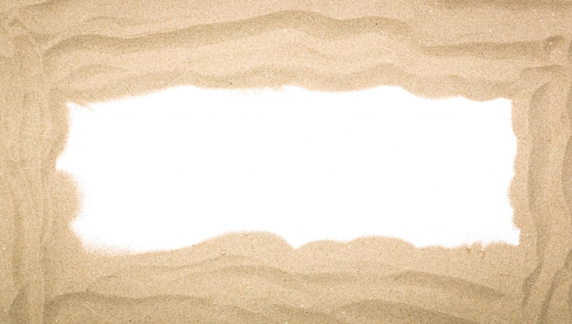 Grande cornice di sabbia