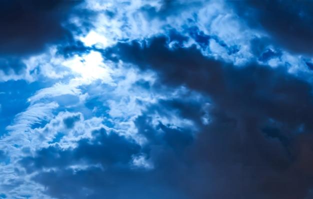 Ottima vista del cielo coperto