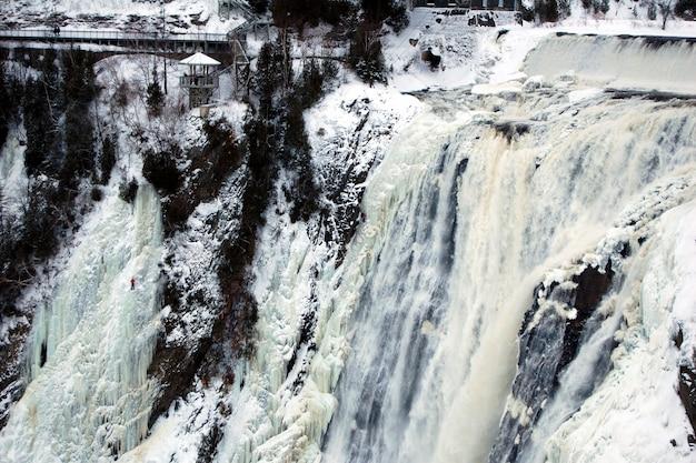 素晴らしい滝