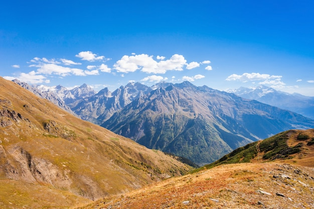 Greater caucasus mountains