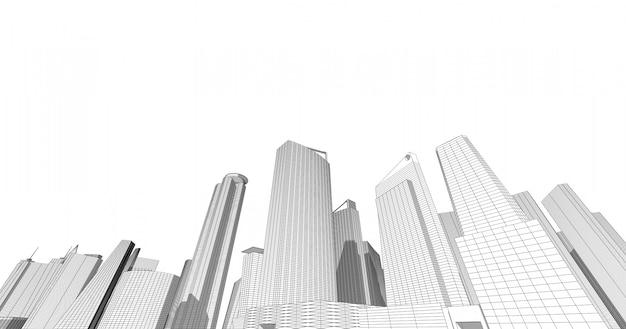 더 큰 상업 및 투자 센터 사무실, 은행, 거주지, 호텔, 쇼핑몰의 중심입니다