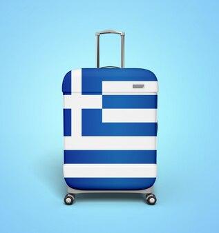 Greece suitcase - vacation