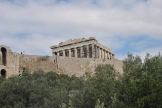 Greek temple  stone