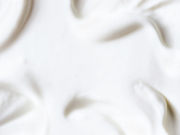 Greek yogurt or sour cream texture background
