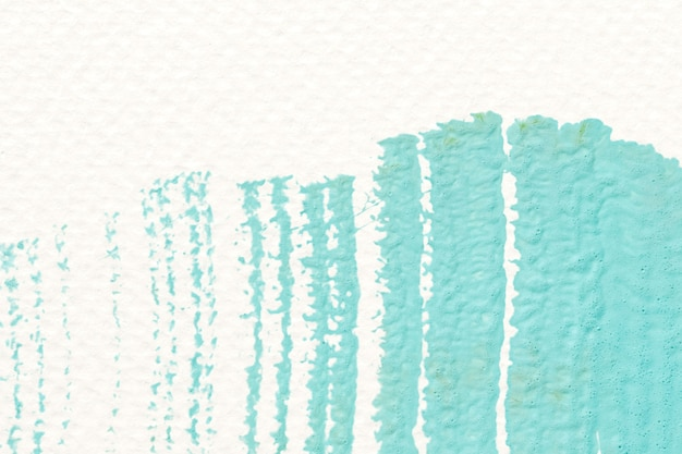 Зеленая акриловая кисть