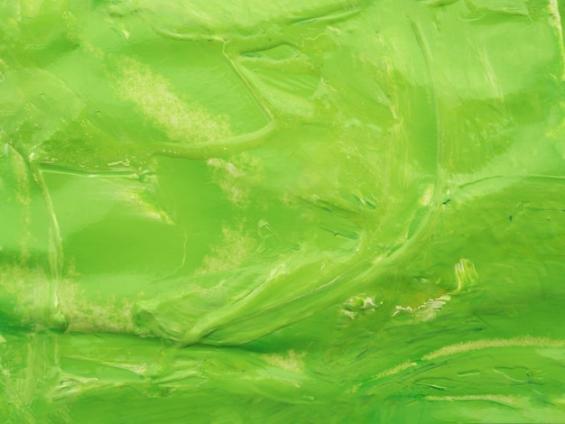 Green acrylic color background