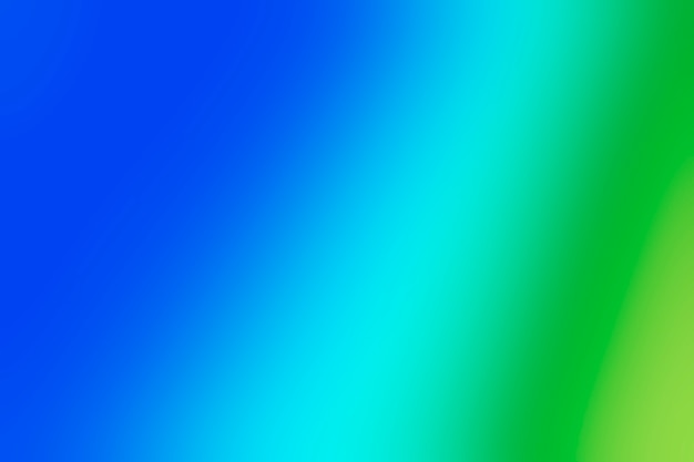 녹색과 파란색 음영