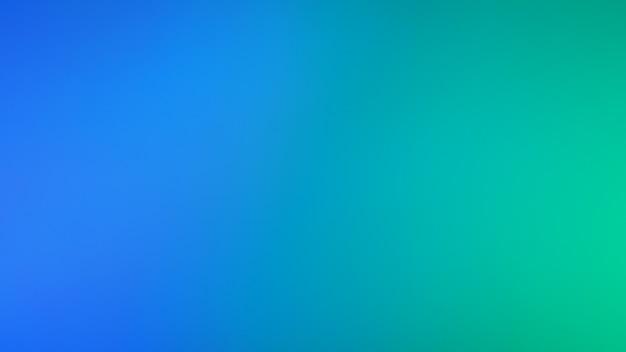 녹색과 네온 파란색 빛 배경입니다.추상 흐리게 그라데이션 배경입니다. 배너 템플릿입니다.