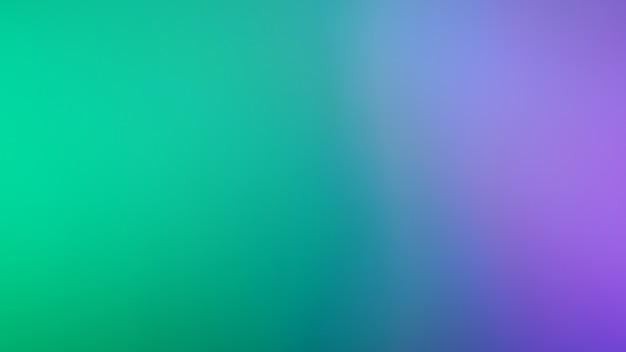 緑と紫紫青の明るい色の背景。抽象的なぼやけたグラデーションの背景。バナーテンプレート。