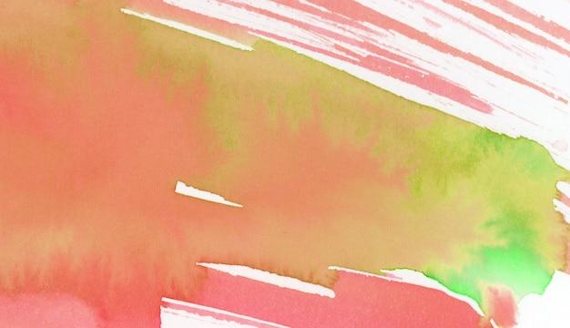 緑と黄色の水彩画の背景