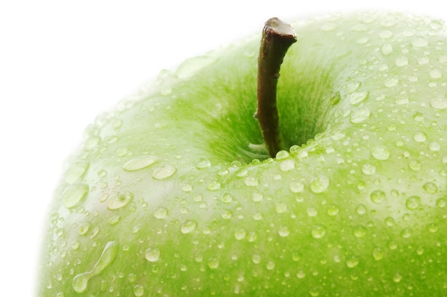 Green apple detail