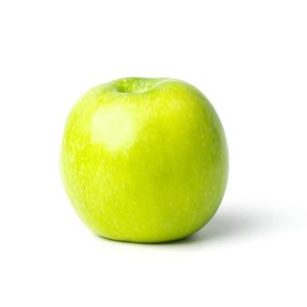 白地に分離された青リンゴ。この画像にはクリッピングパスが含まれています。