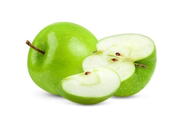 空白の青リンゴ