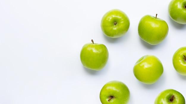 青リンゴ。