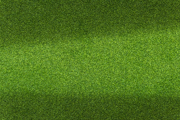 Green artificial golf texture