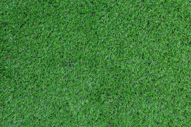 Green artificial grass pattern and texture for background.