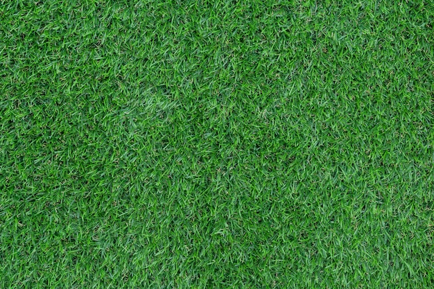Green artificial grass pattern and texture