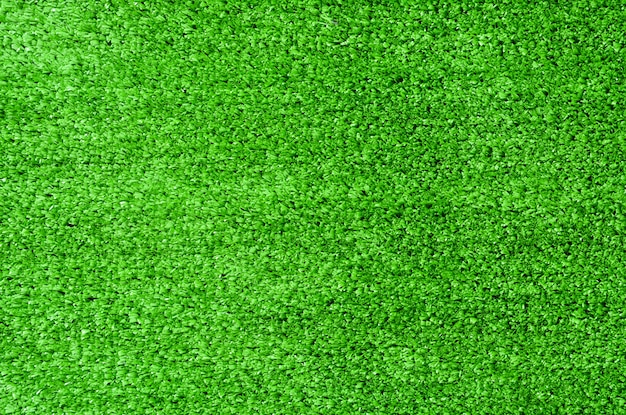 Green artificial grass for texture background