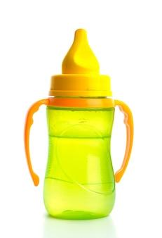 緑の哺乳瓶