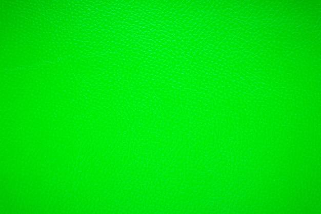 革の質感から緑の背景