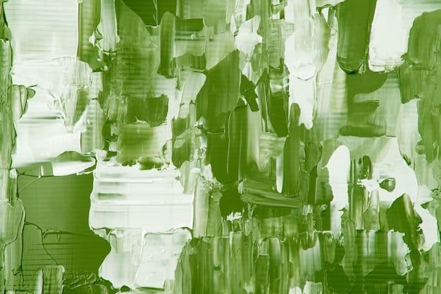 Struttura della pittura astratta della carta da parati del fondo verde