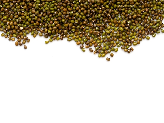 Green bean or mung bean background