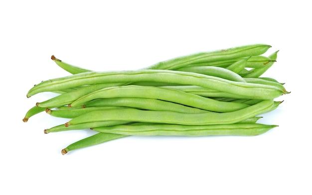 녹색 콩 흰색 절연