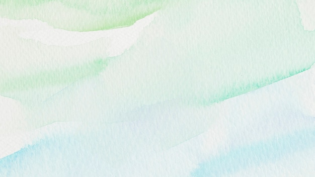 Green and blue watercolor style background illustration