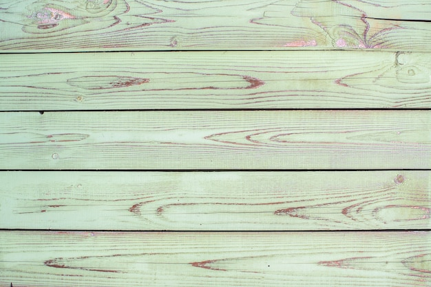 Green, celadon old wood texture backgrounds. horizontal stripes, boards. roughness and cracks.