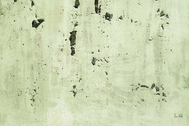 녹색, 청자, 질감입니다. 오래 된 녹슨 벽 배경입니다. 거칠기와 균열.