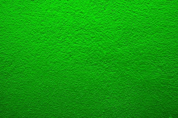 緑のセメントの壁のテクスチャ、背景