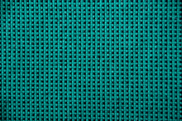 Green checkered pattern textile wall