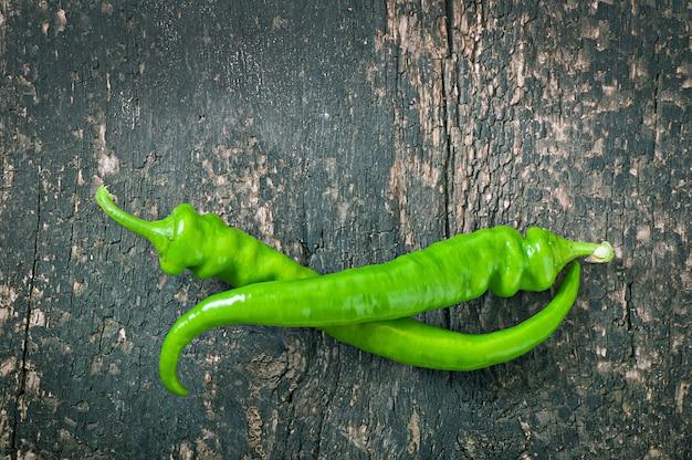 Зеленый перец чили