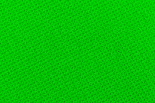 Green chromakey from fabric