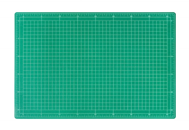 Green cutting mat.