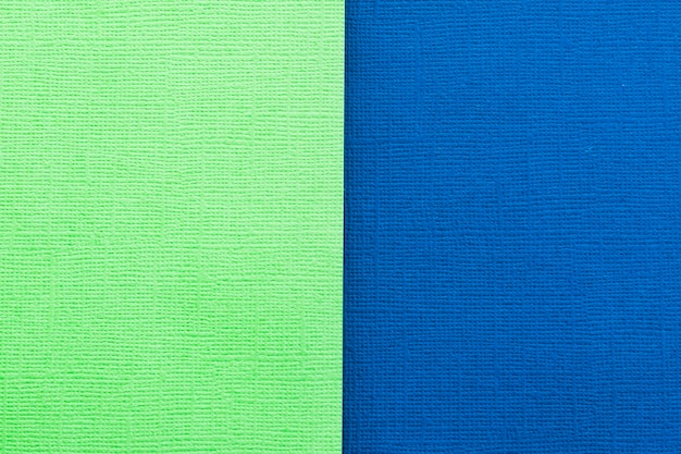 Green and dark  blue pastel paper color for background