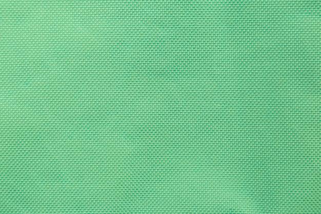 디자인에 대 한 녹색 패브릭 천으로 배경 질감