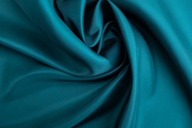 Green fabric texture abstract background
