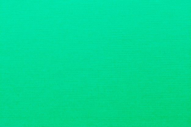 Green fabric texture background