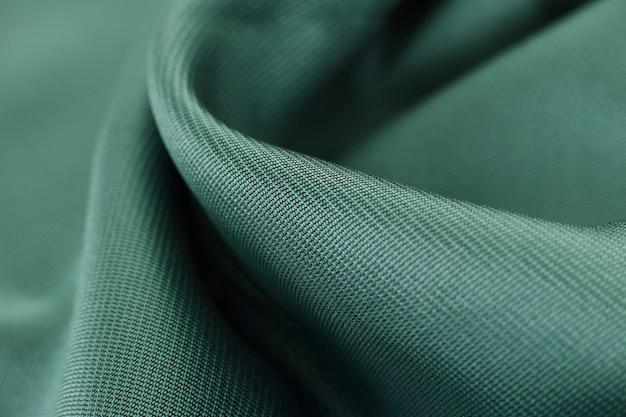 녹색 직물