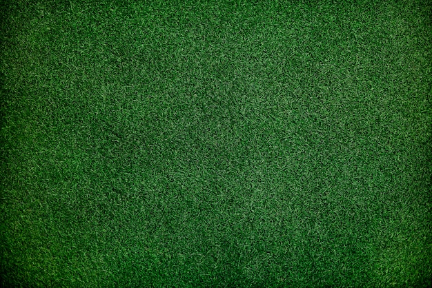 Green fake grass background