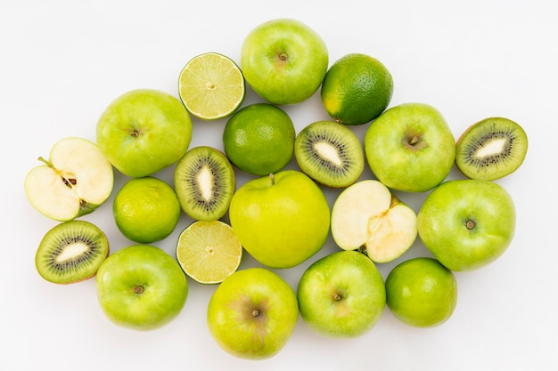 Green fruits arrangement