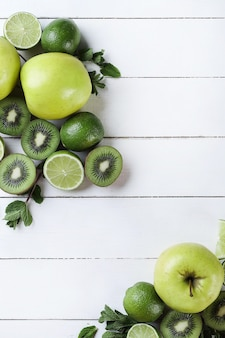Green fruits