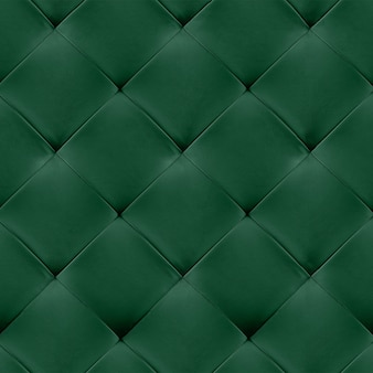 Green genuine leather upholstery background. luxury pattern.
