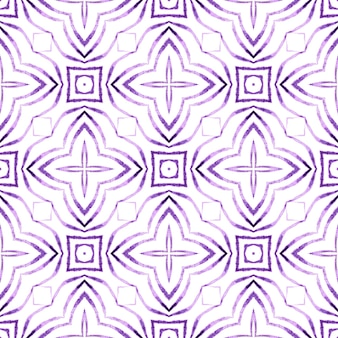 Green geometric chevron watercolor border. purple resplendent boho chic summer design. textile ready worthy print, swimwear fabric, wallpaper, wrapping. chevron watercolor pattern.