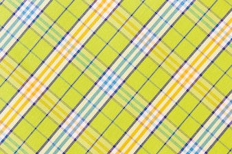 Green gingham textile texture background