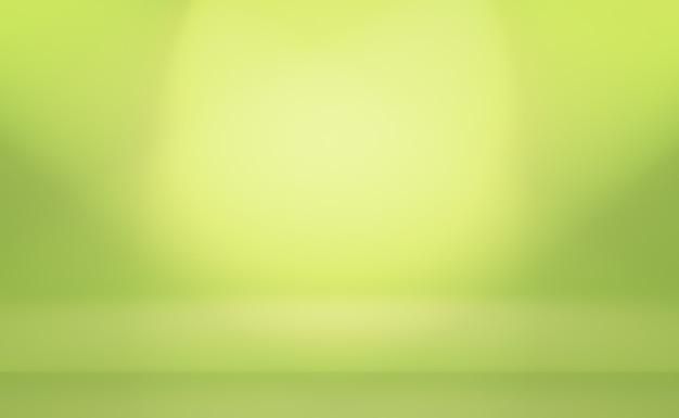 Зеленый градиент абстрактного фона пустая комната с пространством для вашего текста и изображения.