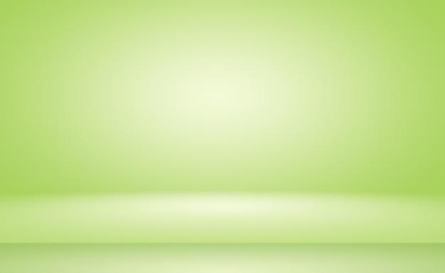 Зеленый градиент абстрактный фон пустая комната с пространством для вашего текста и изображения