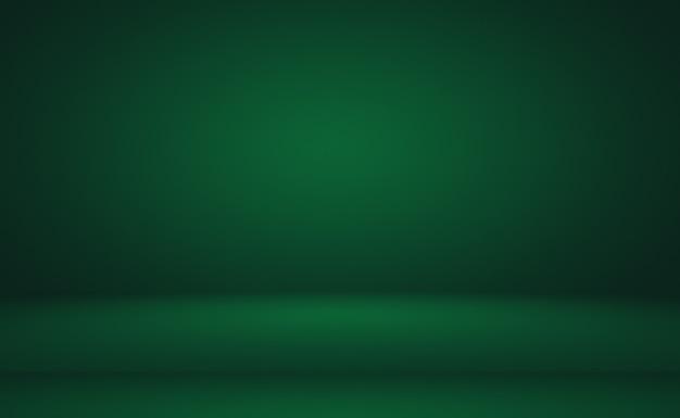 텍스트와 그림을 위한 공간이 있는 녹색 그라데이션 추상적인 배경 빈 공간입니다.